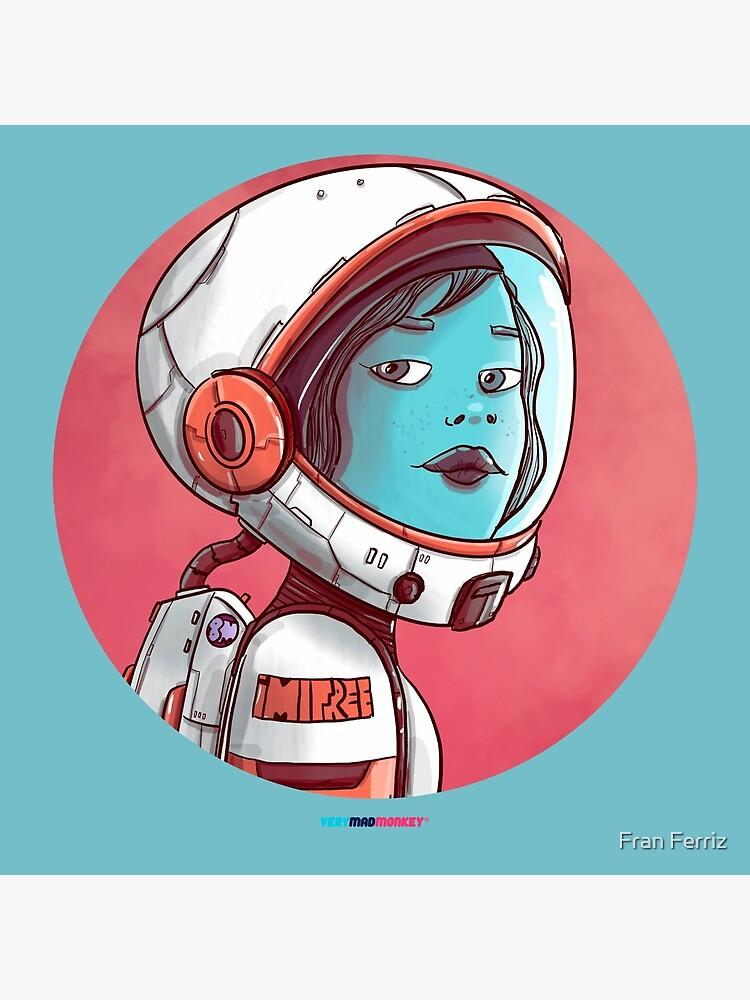 Space Girl by Fran Ferriz de FranFerriz