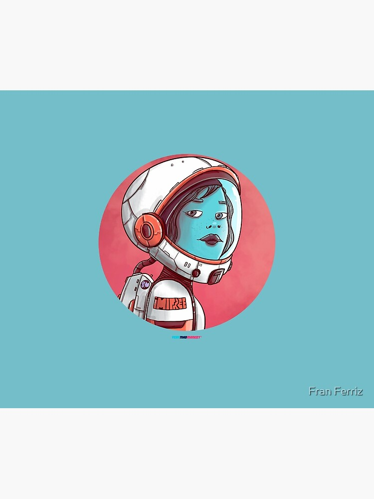 Space Girl by Fran Ferriz de FranFerriz