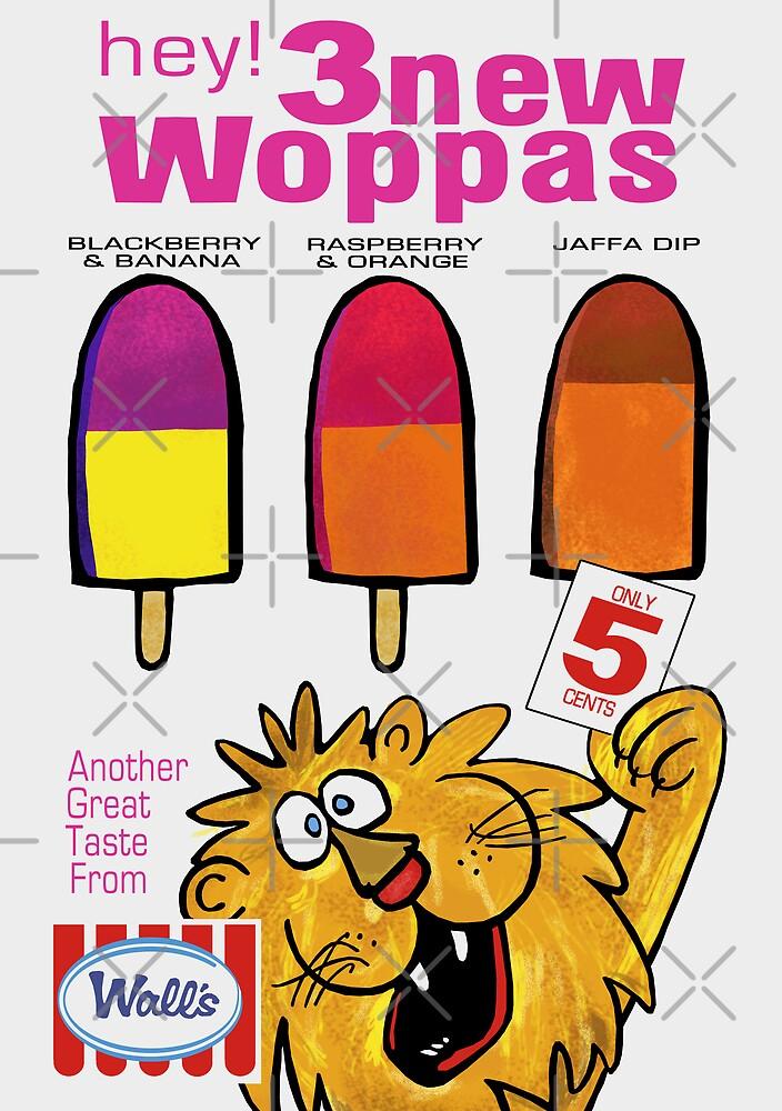 Wall's Woppa Poster by Darian  Zam
