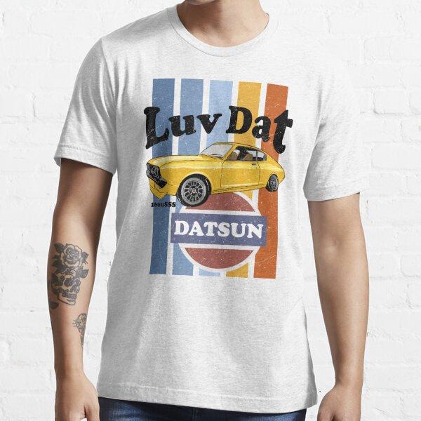 Luv Dat Datsun Vintage Stripes - light Background Essential T-Shirt