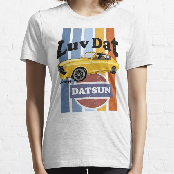 Luv Dat Datsun Vintage Stripes - light Background Essential T-Shirt