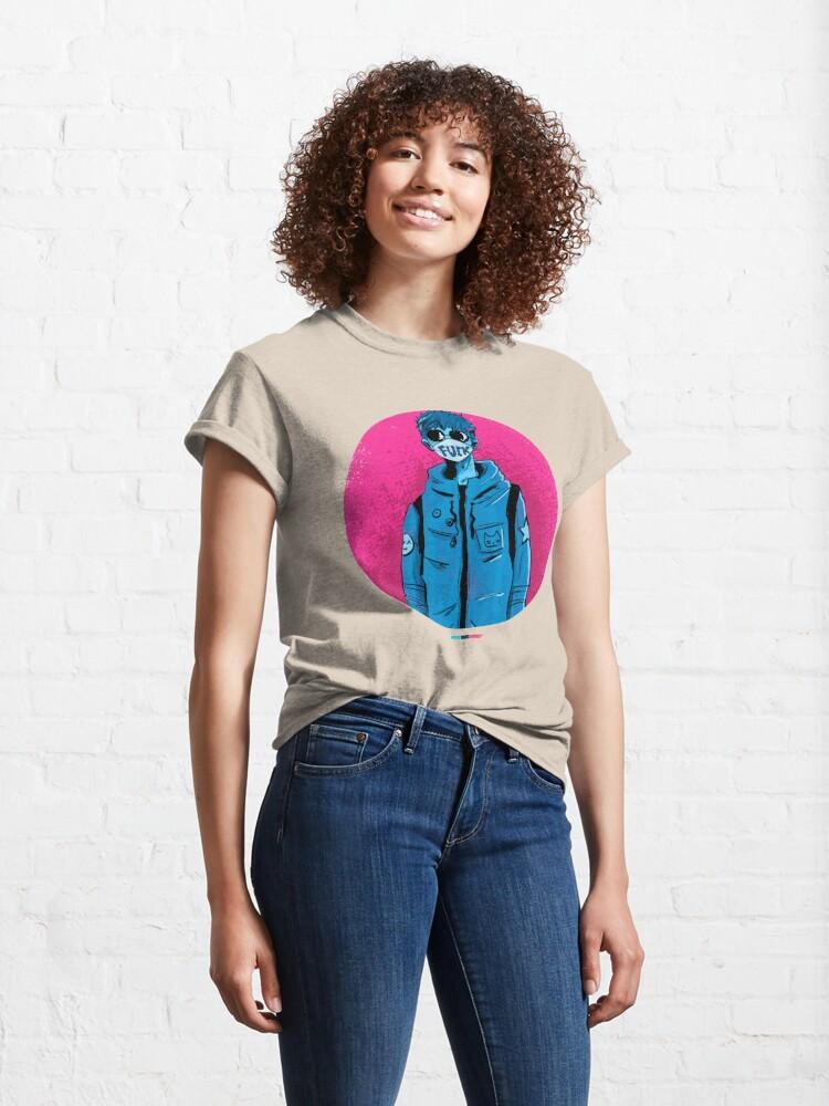 Vista alternativa de Camiseta clásica F**C by Fran Ferriz
