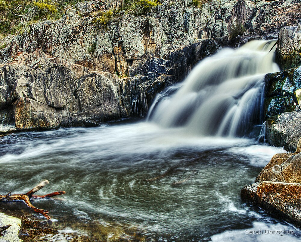 Summer Hill Creek Waterfall Number 2 by Sarah Donoghue