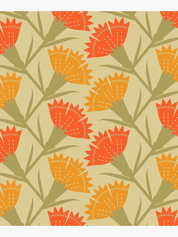 Modern carnations by architeladesign