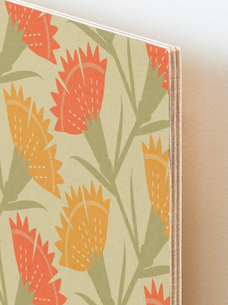 Alternate view of Modern carnations Mounted Print
