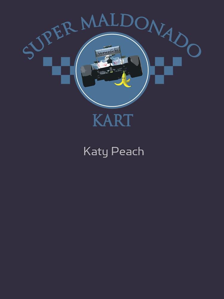 Super Maldonado Kart Classic - Blue Writing by wtf1