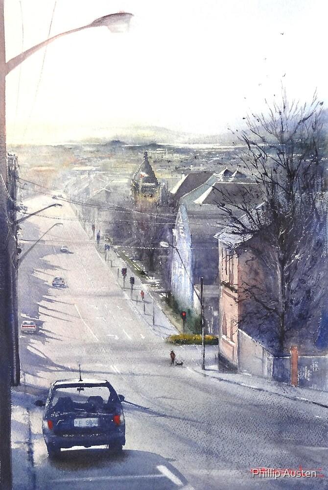 Saturday Arvo - Tamar Street, Launceston by Phillip Austen