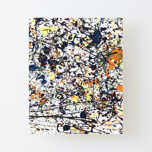 mijumi Pollock Canvas Mounted Print