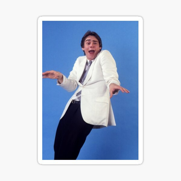 Jim Carrey Vintage Portrait 1992 Sticker