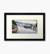 Moving Framed Print