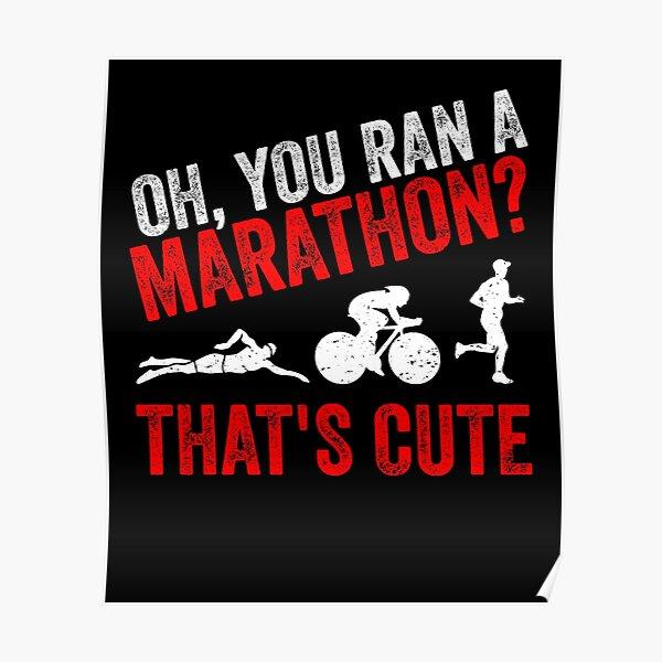 You Do Marathons? How Cute Triathlon Present Funny Triathlon Tote Bag Triathlete Gift