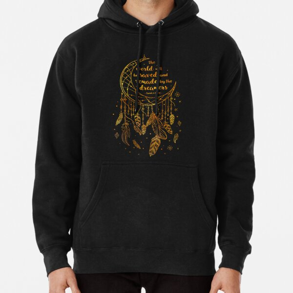 Saved and Remade - gold Pullover Hoodie