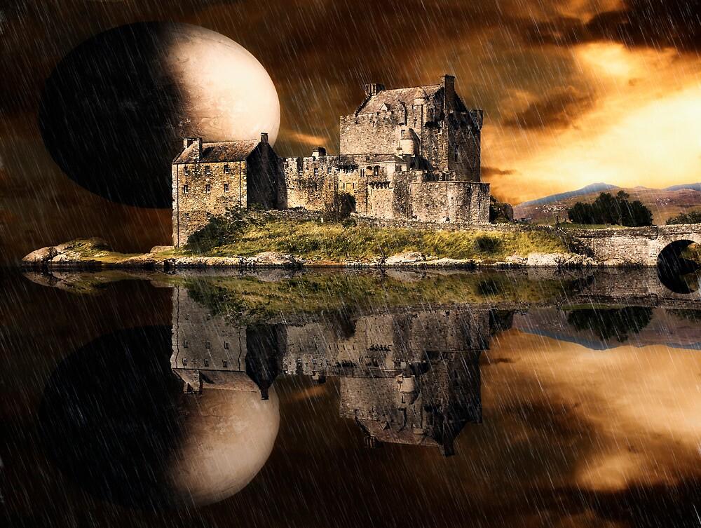 Eilean Donan Castle by Don Alexander Lumsden (Echo7)