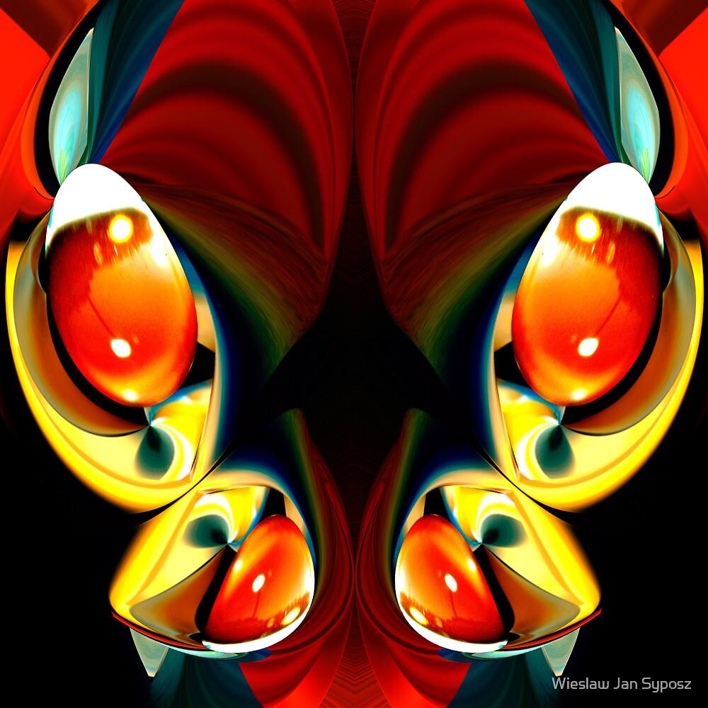 faces & creatures 041 by Wieslaw Jan Syposz