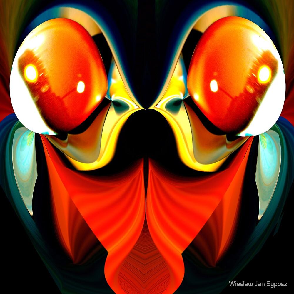 faces & creatures 045 by Wieslaw Jan Syposz