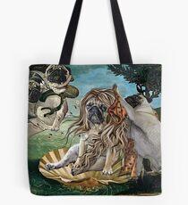 Die Geburt von Venus Pug Tote Bag