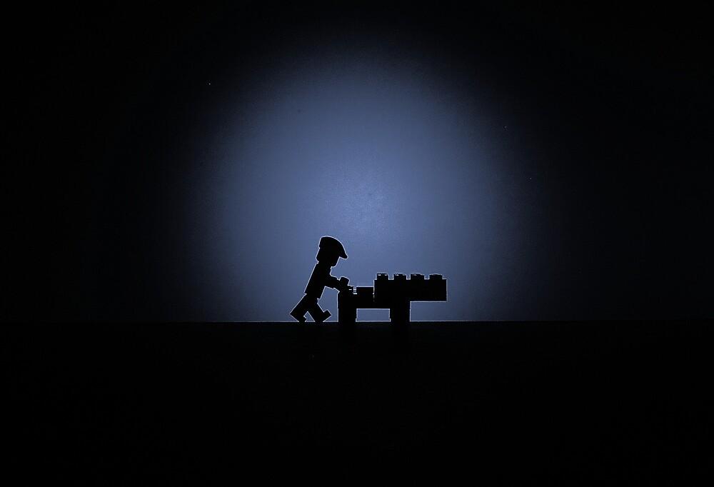 Lego Folds by robertsscholes