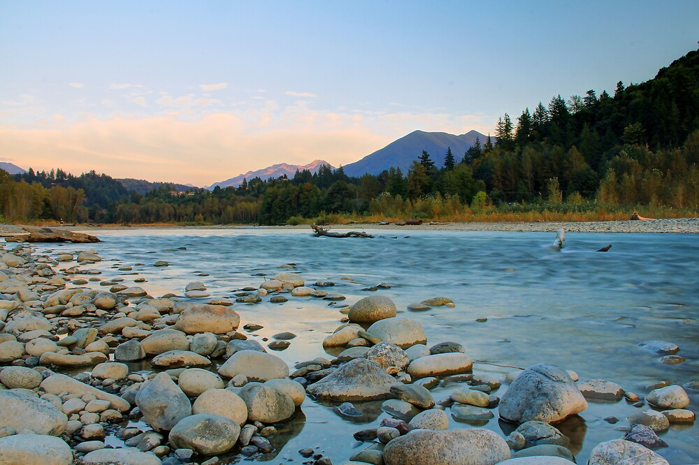 On the River Bed 3 by Tracy Friesen