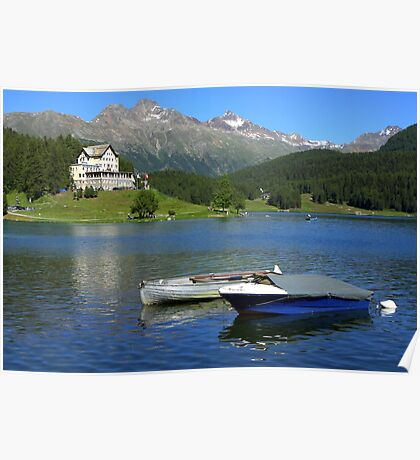 Lake St. Moritz Poster