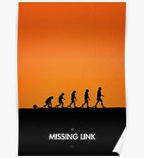 99 steps of progress - Missing link Poster