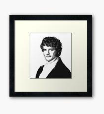 Mr Darcy Framed Print