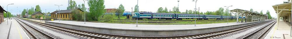railway station by piltnik