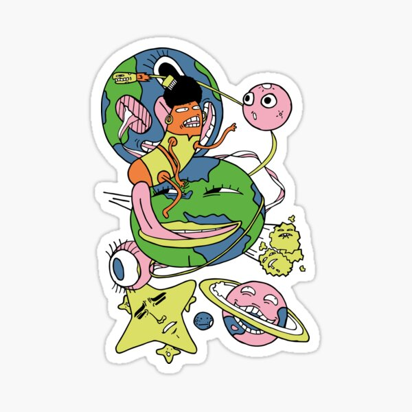 Astral journey Sticker