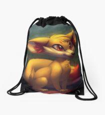 Fire Starter Pokemon Fan Art - Fennekin Drawstring Bag