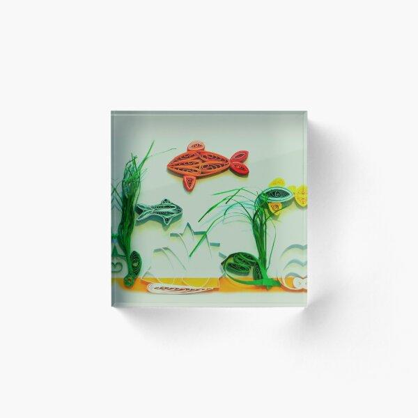 Aquarium Acrylic Block