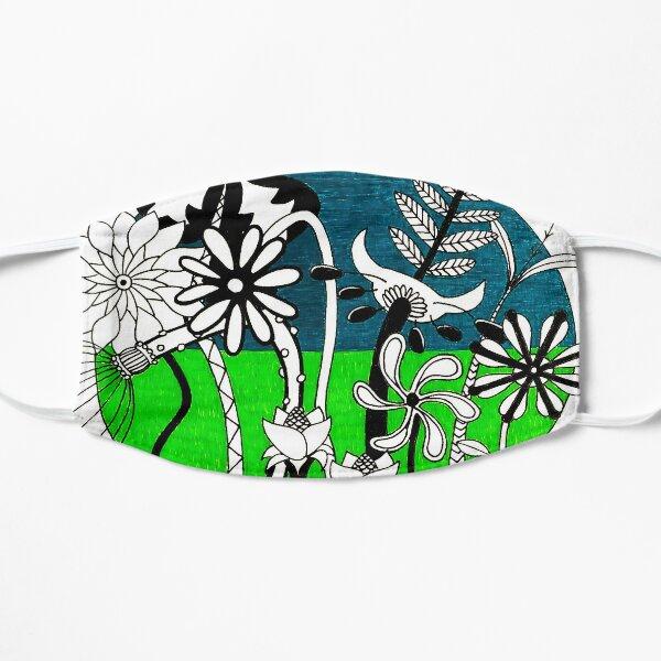 Wild Flowers 2 Flat Mask