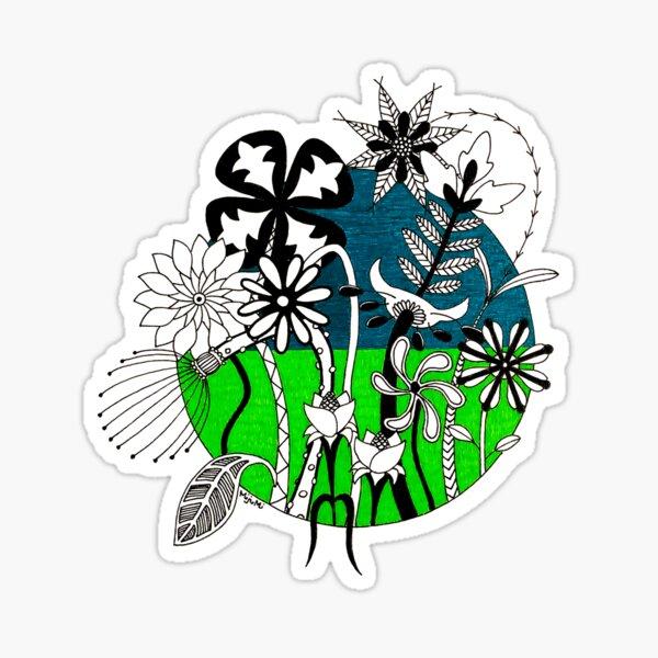 Wild Flowers 2 Sticker