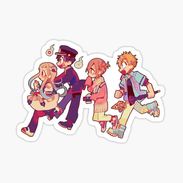 hanako kun and the toilet cleaning club  Sticker