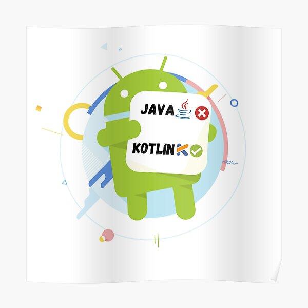 Android developers( Java vs Kotlin ) Poster