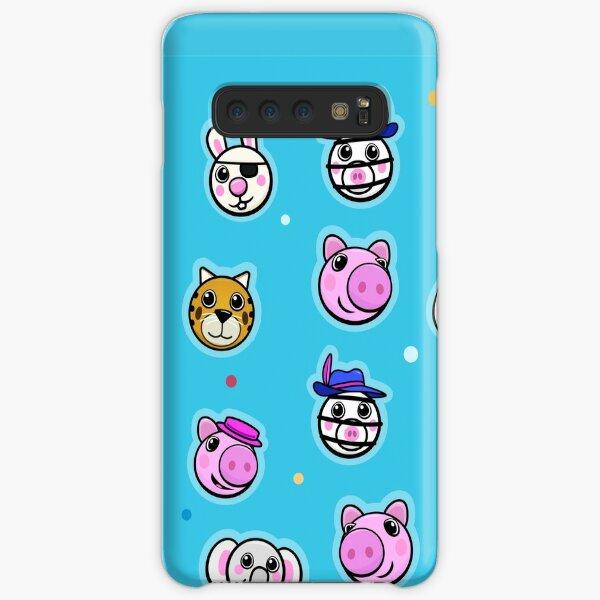 Piggy and friends - Blue Samsung Galaxy Snap Case