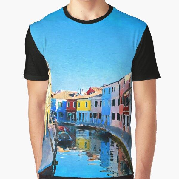 Burano, Italy Graphic T-Shirt