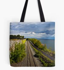 Train Ride with a View Tote Bag