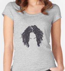 Jack White Hair Women's Fitted Scoop T-Shirt