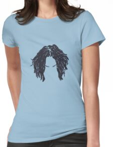 Jack White Hair Womens Fitted T-Shirt