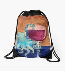 octowine Drawstring Bag