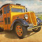 1936 School Bus  -  The Bumpy Ride by flyrod