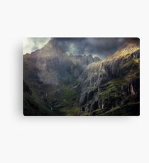 The Glen of Weeping. Canvas Print