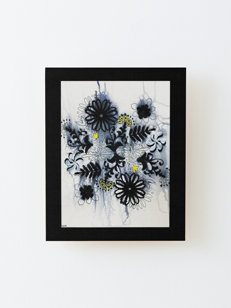 Alternate view of The Drip Mounted Print