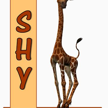 Shy Olympia The Giraffe by blurtsmum
