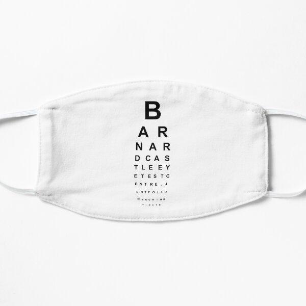 Barnard Castle Eye Test Mask