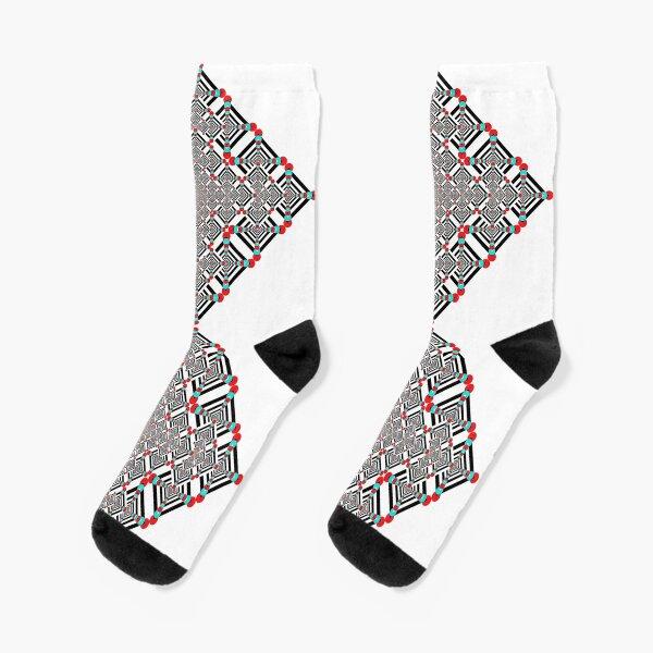 Motif, Visual arts, Psychedelic Socks