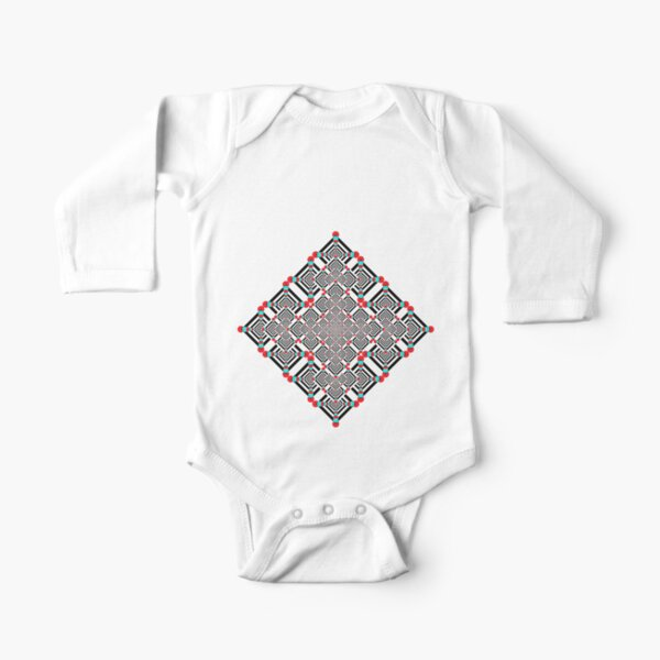 Motif, Visual arts, Psychedelic Long Sleeve Baby One-Piece