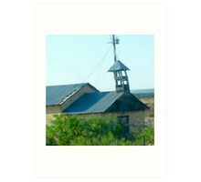 Montoya Church Art Print