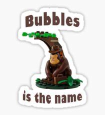 Mr Bubbles Sticker