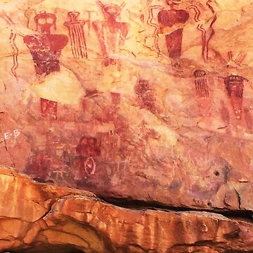 Sego Canyon Pictographs by nativeminnow