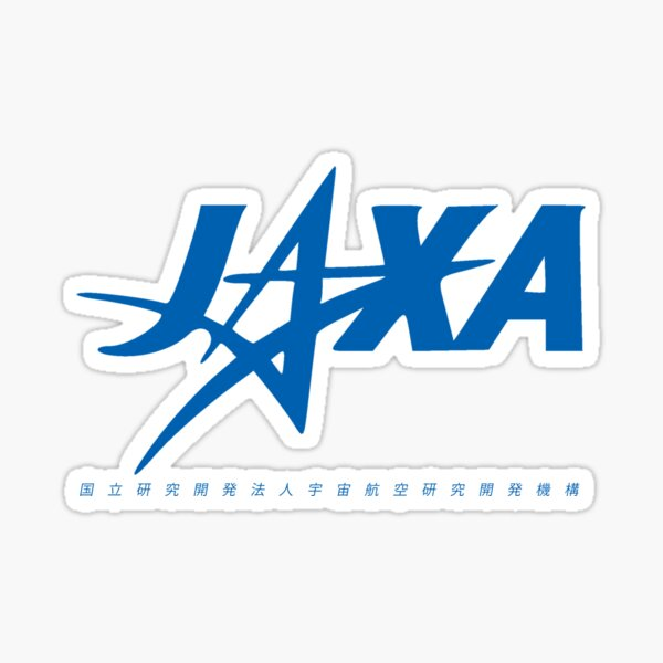 Agence d'exploration aérospatiale japonaise (JAXA) - Logotype Sticker